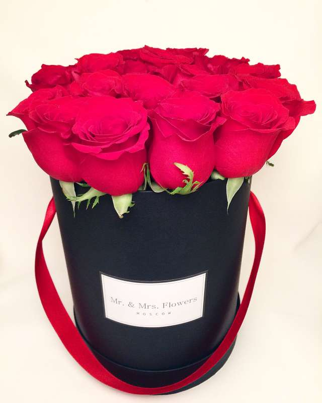Цветы к шляпной коробке своими руками