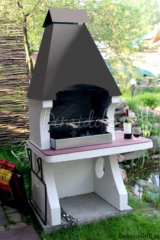 Садовые печи барбекю фото